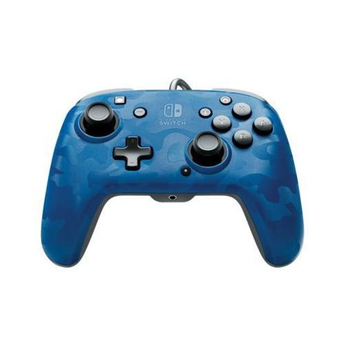 Pdp Kontroler faceoff wired pro controller niebieski do nintendo switch