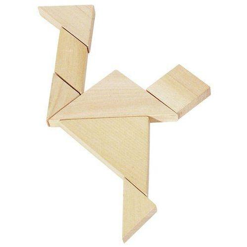 Układanka logiczna tangram, -hs 008 marki Goki