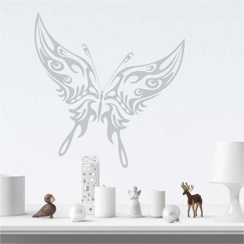 Wally - piękno dekoracji Szablon do malowania motyl płomienie 2358