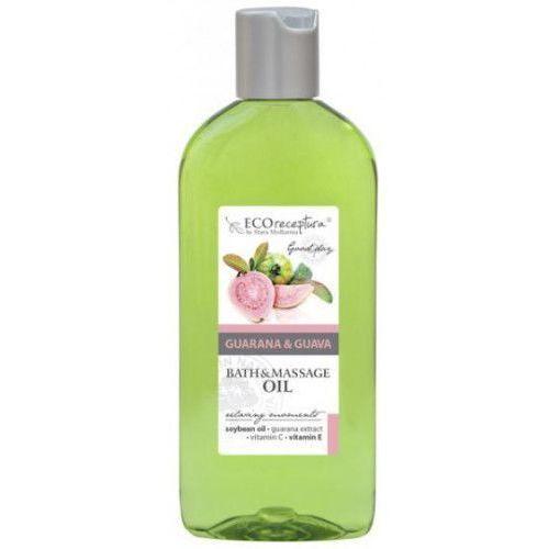 ECO RECEPTURA Guarana&Guava - olejek do masażu i kąpieli 300 ml