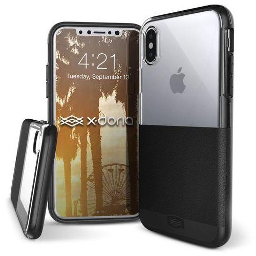 dash - etui iphone x (black leather) marki X-doria