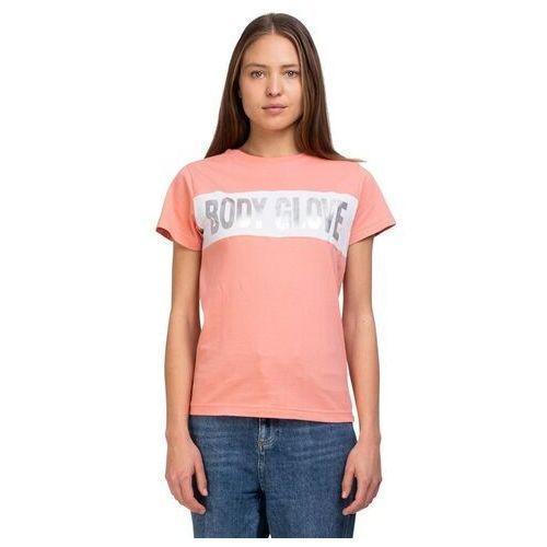 koszulka BODY GLOVE - Retro Panel Tee Glow Pink (GLOW PINK) rozmiar: 6, kolor różowy