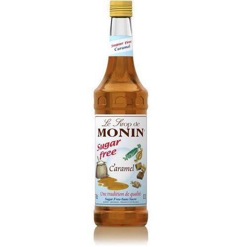 Syrop smakowy Monin Carmel Sugar Free, karmel bez dodatku cukru 0,7l