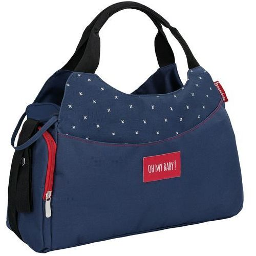torba do przewijania multipocket dark blue marki Badabulle