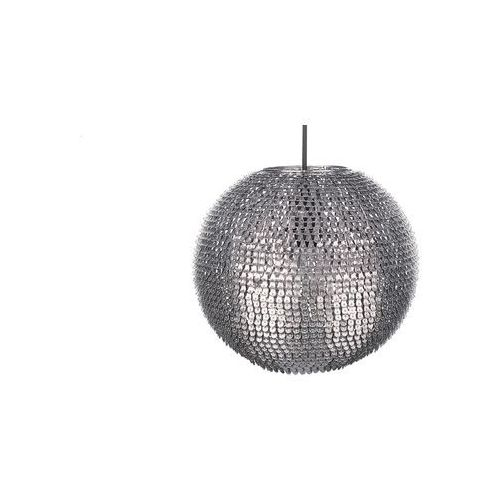Lampa sufitowa wisząca srebrna - żyrandol - oświetlenie - SEINE
