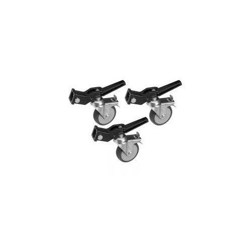 Kółka AVENGER A9000NB z hamulcem na 25x25mm, śr. 100mm czarne (8024221559651)