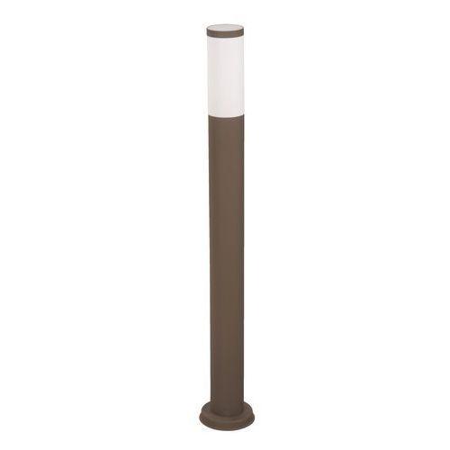 Lampa zewnętrzna livia sg1041-100br inox brąz.  marki Polux