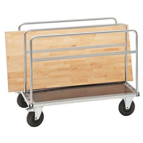Wózek do transportu płyt, nośność 500 kg, wys. całk. 875 mm, wys. ładunkowa 275