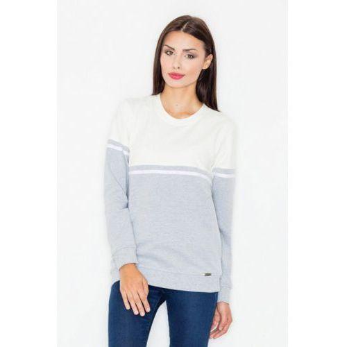 Bluza damska model m511 grey/ecru marki Figl