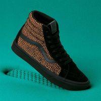 buty VANS - Comfycush Sk8-Hi Reissue (Tiny Cheetah) Black (VWS) rozmiar: 36.5, kolor czarny