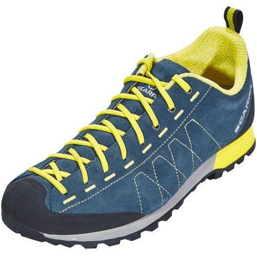 highball buty mężczyźni żółty/niebieski 43 2018 buty podejściowe marki Scarpa