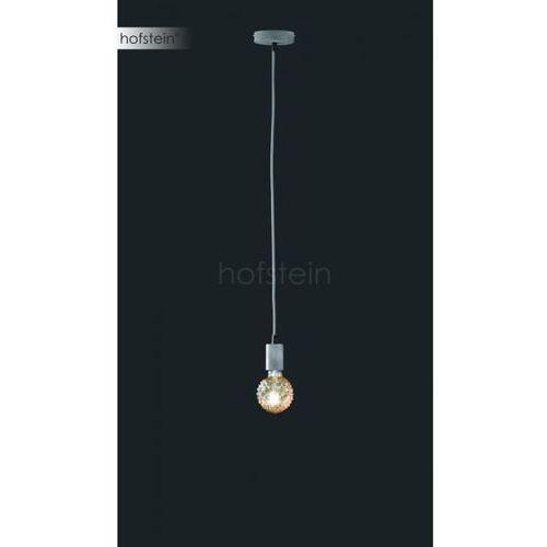 Trio-Leuchten Cord Lampa Wisząca Siwy, 1-punktowy - Vintage - Obszar wewnętrzny - CORD - Czas dostawy: od 3-6 dni roboczych, kolor Szary