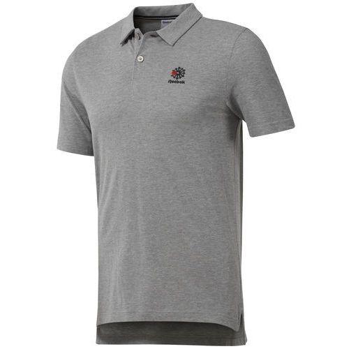 Koszulka Polo Reebok DH2104, kolor szary