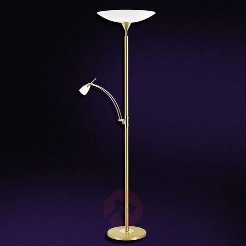 Paul Neuhaus PEARL lampa stojąca LED Mosiądz, 2-punktowe - Klasyczny - Obszar wewnętrzny - PEARL - Czas dostawy: od 4-8 dni roboczych