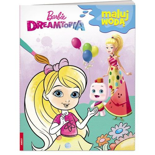Barbie Dreamtopia Maluj wodą - Jeśli zamówisz do 14:00, wyślemy tego samego dnia. Darmowa dostawa, już od 99,99 zł.