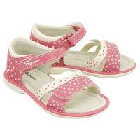 1s1228 różowy, sandały dziecięce, rozmiary: 20-23 - różowy marki Wojtyłko