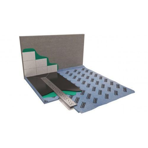 Wiper showerbase płyta prysznicowa z odpływem liniowym ol 150x80 cm