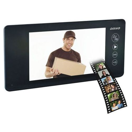 Wideo monitor  or-vid-js-1040pmv/b czarny + darmowy transport! marki Orno