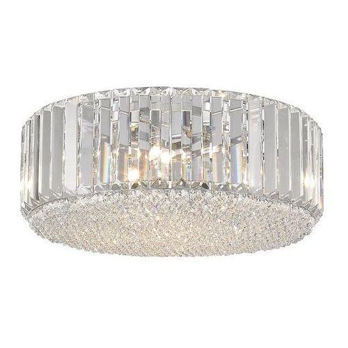 Plafon Italux Bradley C0360-05B-F4AC lampa sufitowa 5x42W G9 chrom / kryształ (5900644320623)