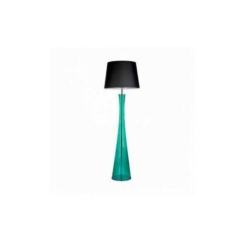 4concepts 4 concepts siena green l235312258 lampa stojąca podłogowa 1x60w e27 czarny