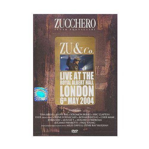 ZU & CO./LIVE AT THE ROYAL ALBERT HALL - Zucchero (Płyta DVD) (0602498683743)