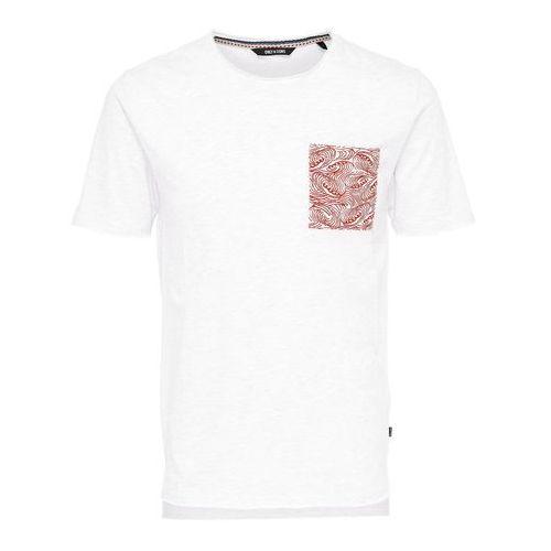 Wzorzysty t-shirt THOR, kolor szary