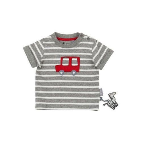 Sigikid boys bluzka z krótkim rękawkiem antracyt melange (4045646084201)