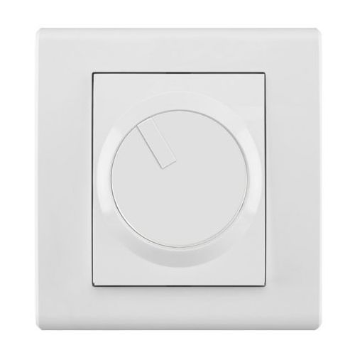Elektro Plast Catrin - Ściemniacz obrotowy400W biały - 2117-10, towar z kategorii: Włączniki