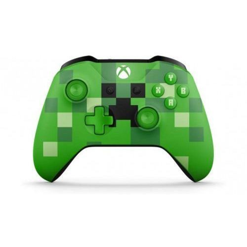 Microsoft Xbox One Wireless Controller Minecraft WL3-00057, 1_601884