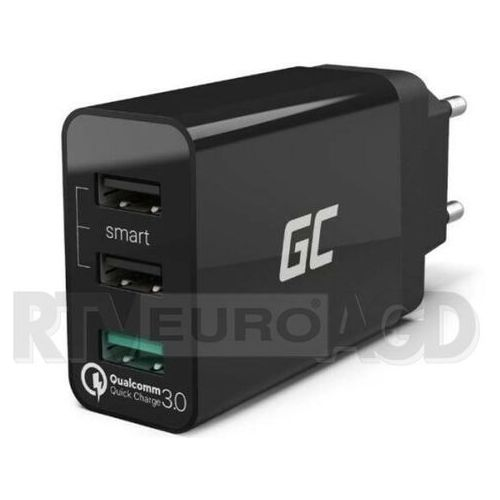 Green cell ładowarka 3x usb quick charge 3.0 (5902719425776)