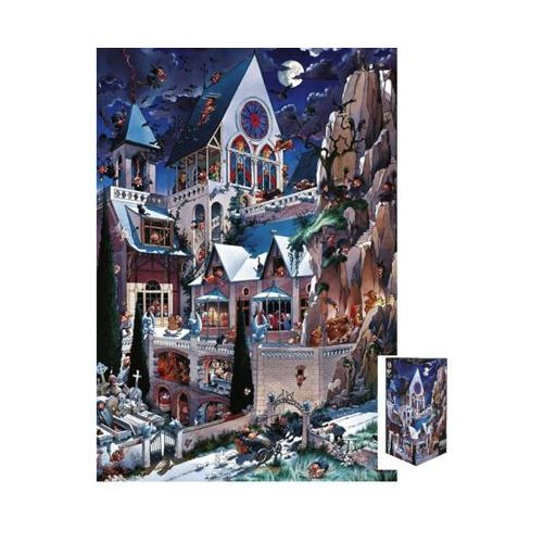 Heye 2000 elementów, castle of horror, loupt (4001689261276)