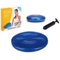 Poduszka sensoryczna qmed z wypustkami, dysk sensoryczny do ćwiczeń marki Memo