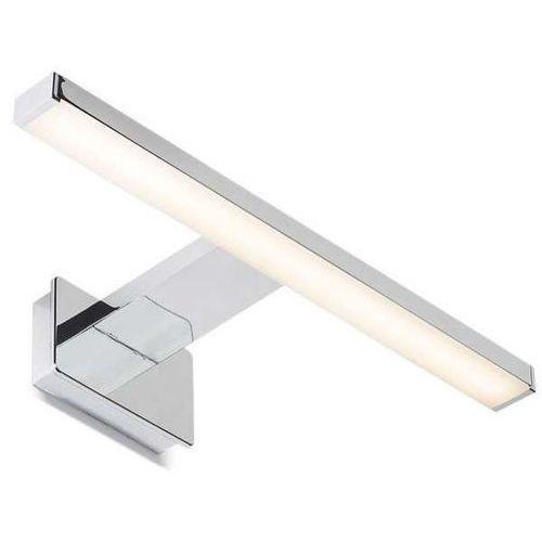 Redlux Kinkiet lampa ścienna palea r10614  łazienkowa oprawa metalowa led 4,4w nad lustro ip44 listwa chrom