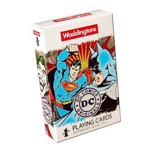 Winning moves Karty do gry waddingtons dc superheroes retro
