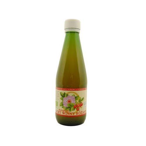 Ocet winny różany bio 300 ml - dary natury marki Dary natury - inne bio