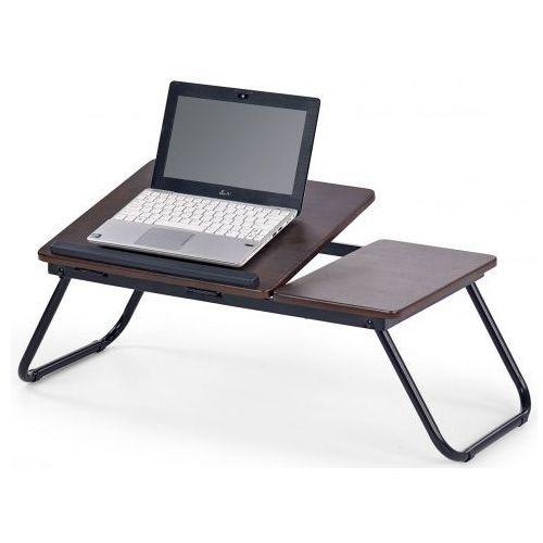 Regulowany stolik pod laptopa Lavix - ciemny orzech