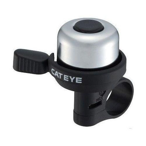 Dzwonek rowerowy wind bell alminium pb-1000 srebrny marki Cateye