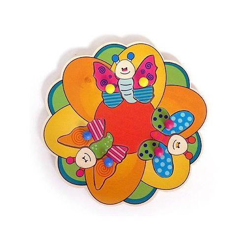 drewniana układanka dla dzieci motylki marki Hess