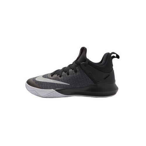 Nike Performance ZOOM SHIFT Obuwie do koszykówki black/chrome/wolf grey