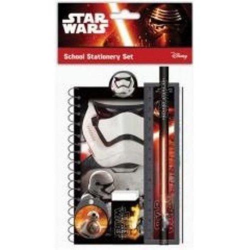 Zestaw szkolny z gumką, linijką Star Wars (3850289026201)