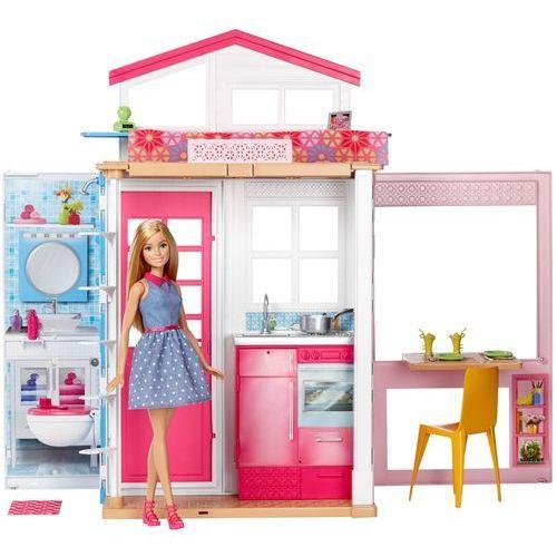 Mattel Barbie domek + lalka (0887961374988)