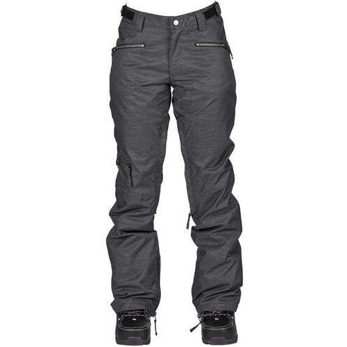 Nikita Spodnie - white pine pant black (blk) rozmiar: l