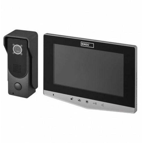 """Wideodomofon 7"""" komplet EM-05R srebrny EMOS 3010002030 (8592920065198)"""