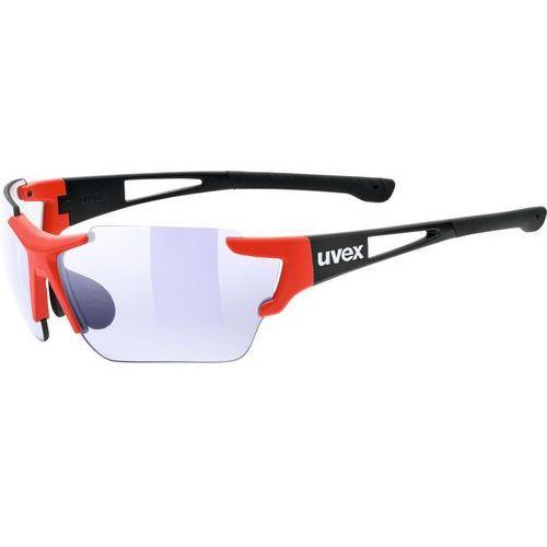 Uvex sportstyle 803 race vm okulary rowerowe czerwony/czarny 2019 okulary sportowe