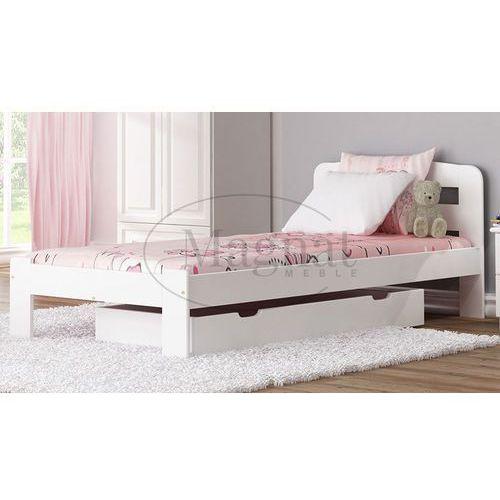 Gdzie Tanio Kupić łóżko Drewniane Sara 90x200 Białe Marki