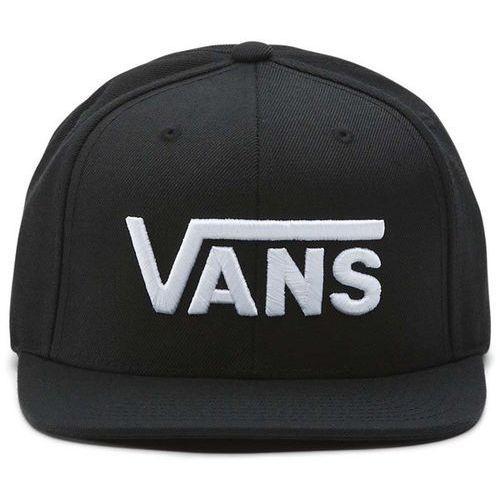 czapka z daszkiem VANS - Drop V Snapback H Black-White (Y28) rozmiar: OS, kolor biały