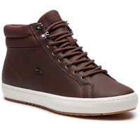 Sneakersy - straightset insulac 3181 cam 7-36cam0064db2 dk brw/dk brw marki Lacoste