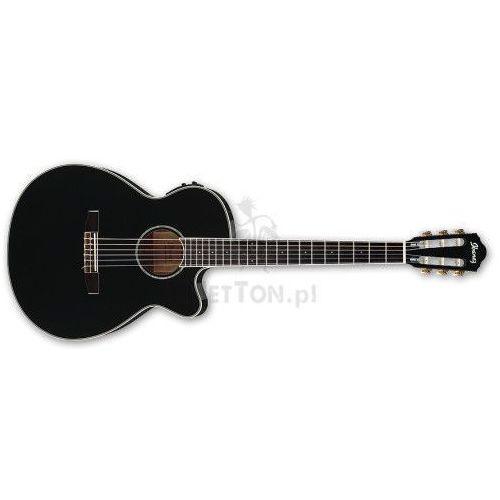 Ibanez Aeg10nii-bk black - gitara elektroakustyczna
