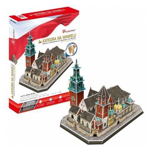Puzzle 3d katedra na wawelu 101 elementów marki Cubicfun
