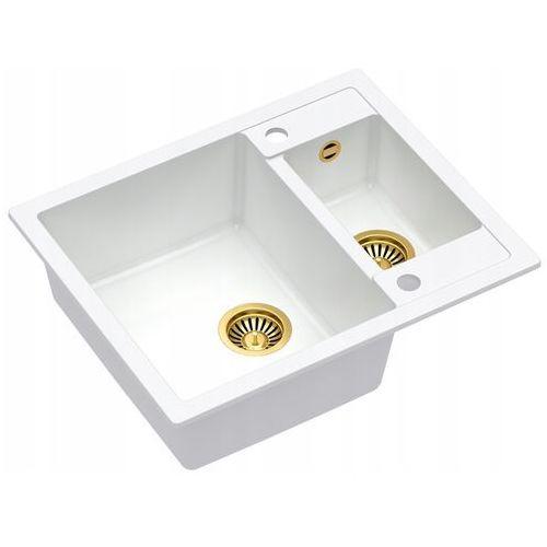 Zlewozmywak Quadron MORGAN 150 Granite HB8214U1-G1 - kto pyta płaci mniej I zadzwoń 22 266 82 20 I odbierz w Salonie!, kolor złoty
